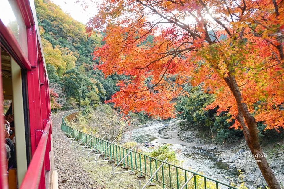 嵯峨觀光鐵道嵐山小火車