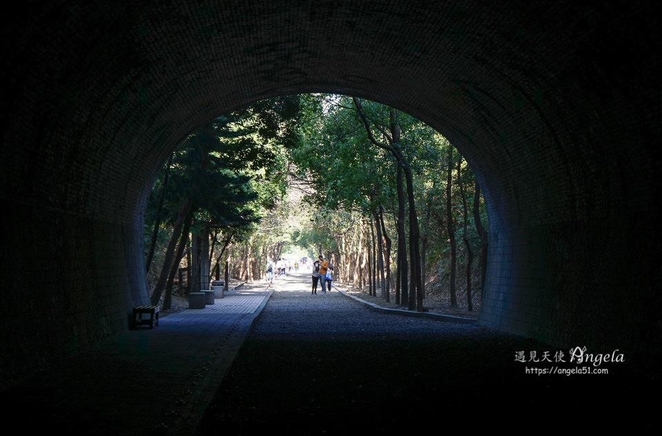 崎頂子母隧道時光隧道