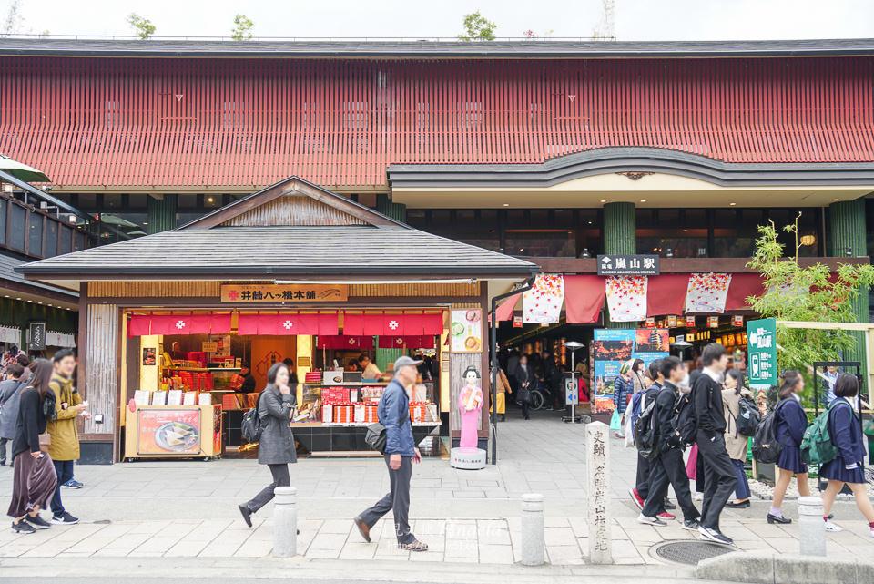 嵐山商店街