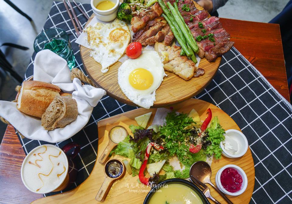 台中早午餐推薦堅果小巷網美咖啡廳
