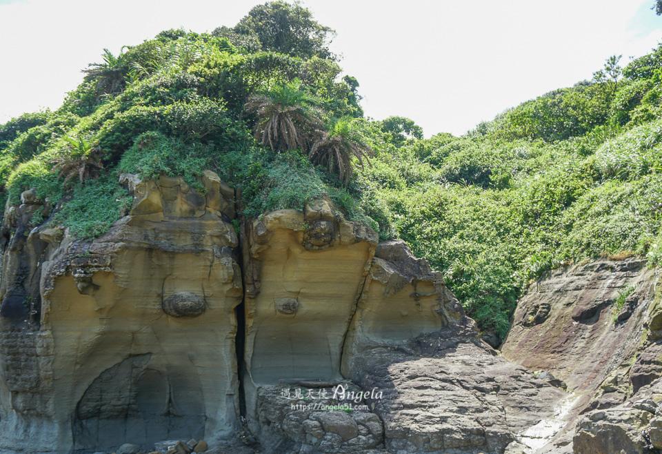 基隆秘境阿拉寶灣金剛岩