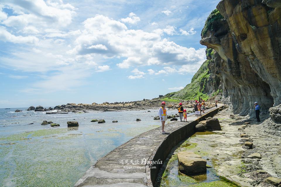 基隆秘境阿拉寶灣法老王岩