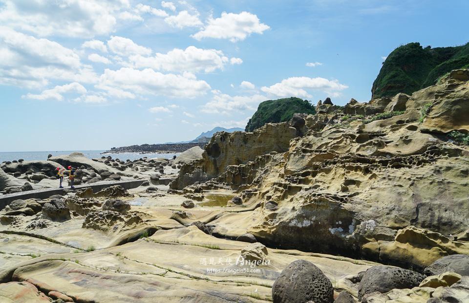 基隆秘境阿拉寶灣鱷魚岩淚