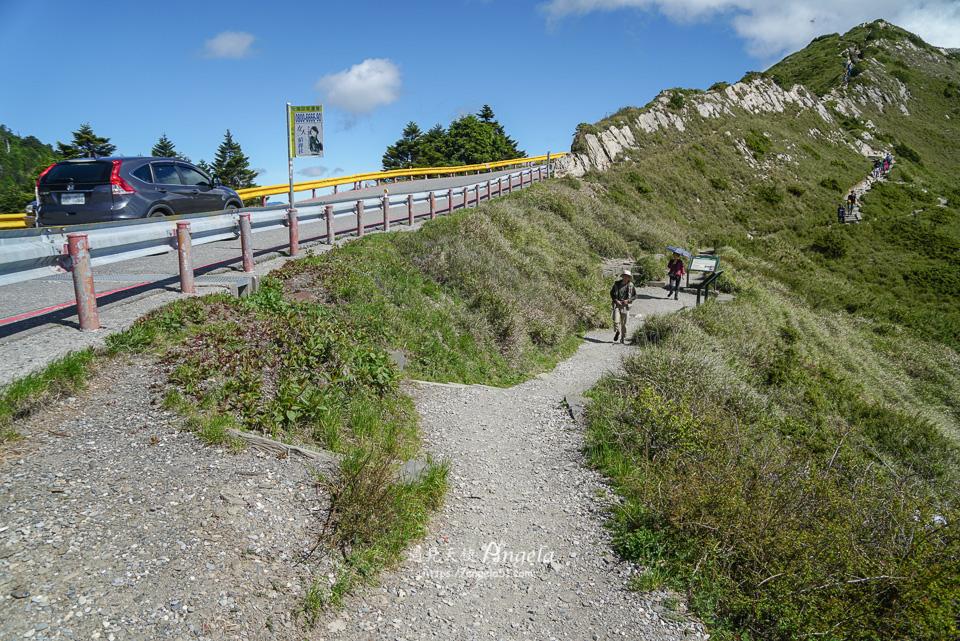 合歡石門山登山步道