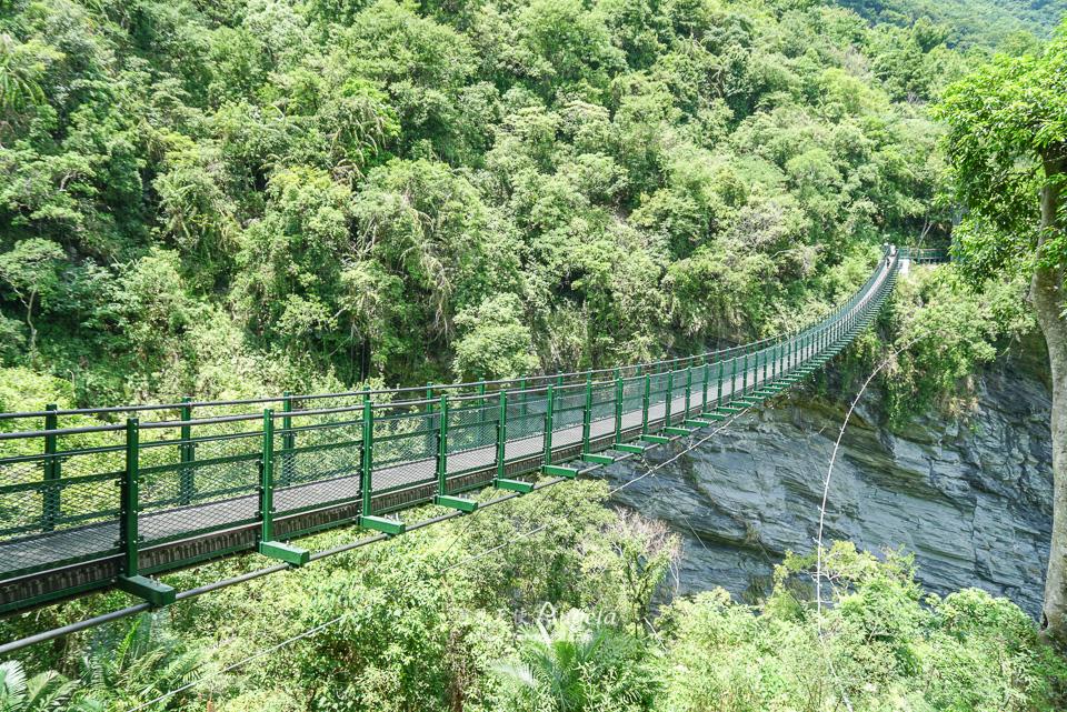 絕美花蓮吊橋,瓦拉米山風一號吊橋