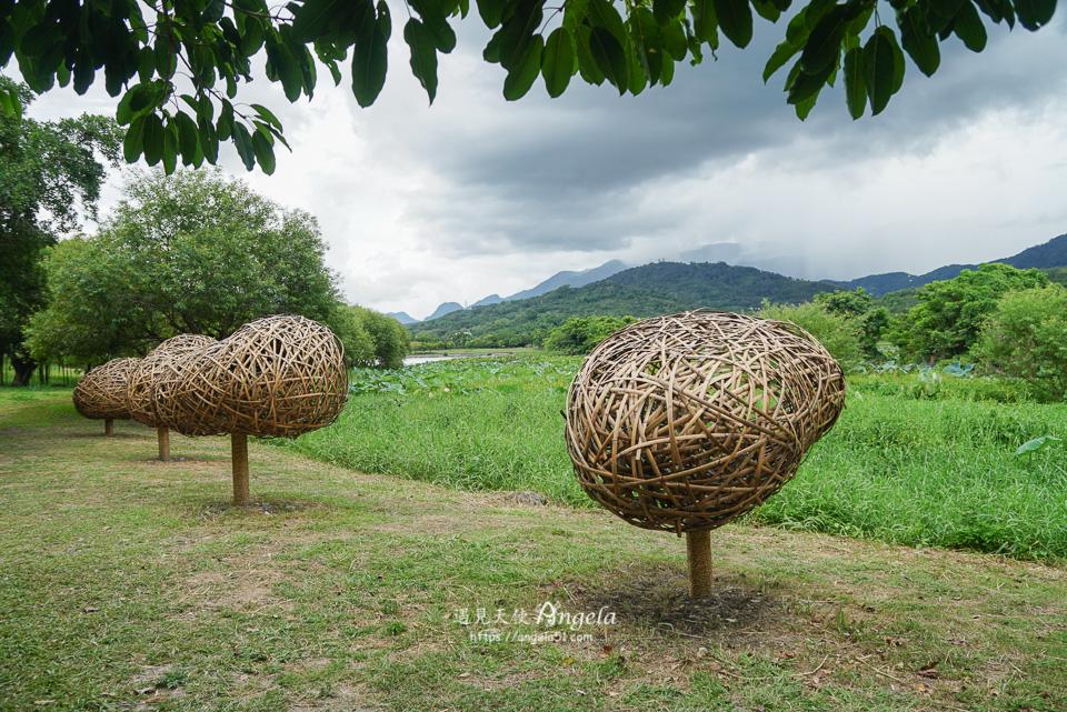 大坡池秋收藝術節作品想要有個家