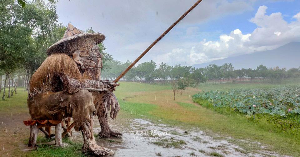 大坡池秋收藝術節作品