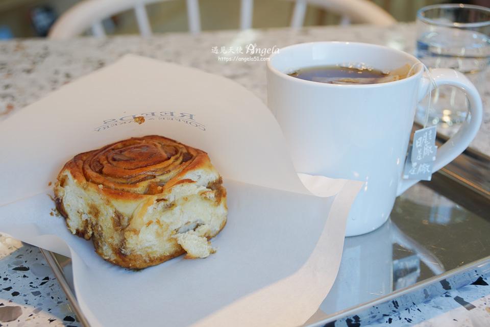reeds coffee & bakery肉桂捲