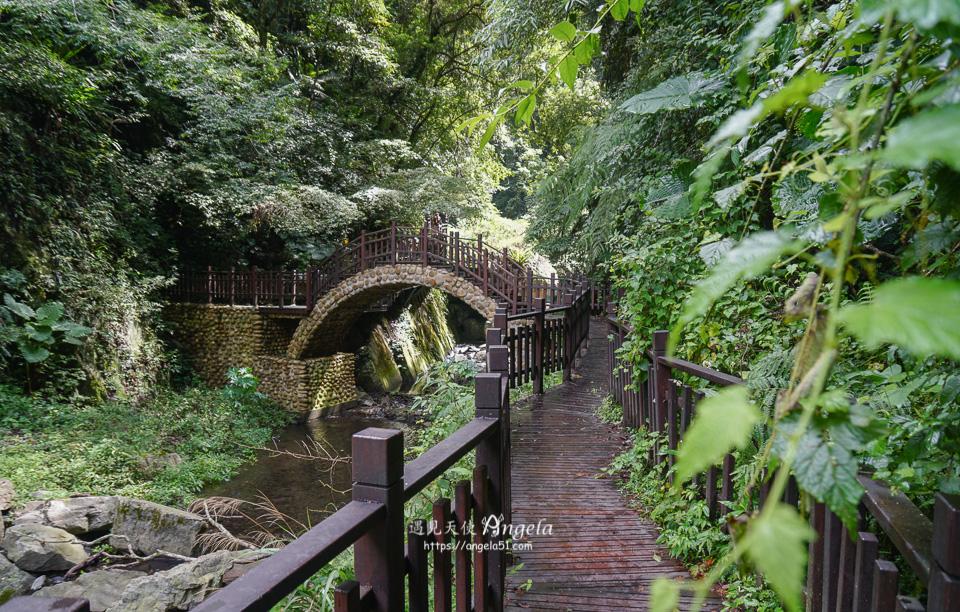新竹尖石景點老鷹溪瀑布步道