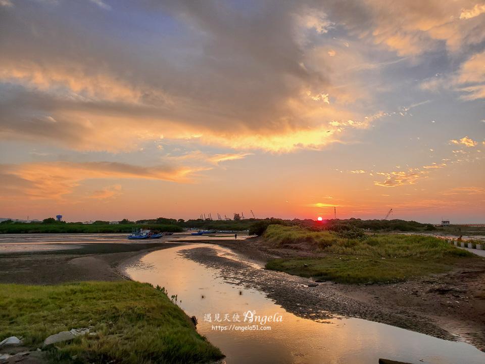 八里夕陽觀景點挖子尾自然保留區