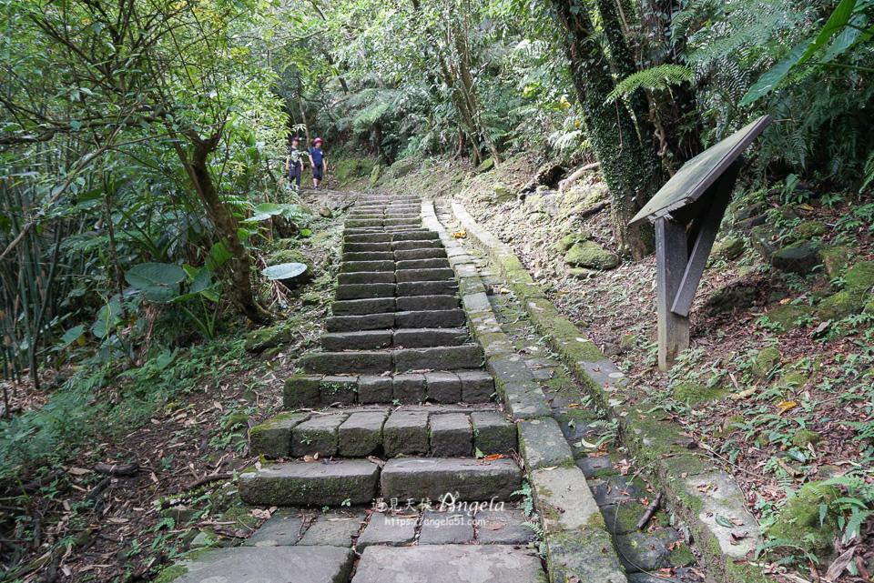 三貂嶺瀑布步道入口階梯