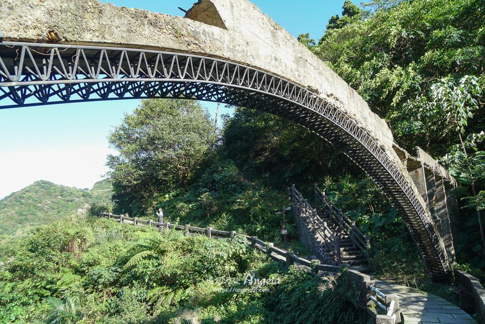 金瓜石秘境三橋黃金水圳橋
