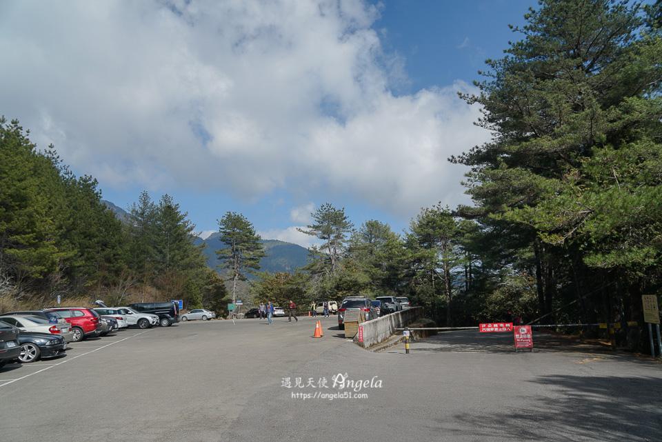 大雪山森林遊樂區雪山神木停車場步道入口