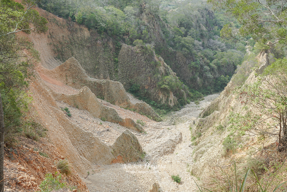 火炎山小峽谷