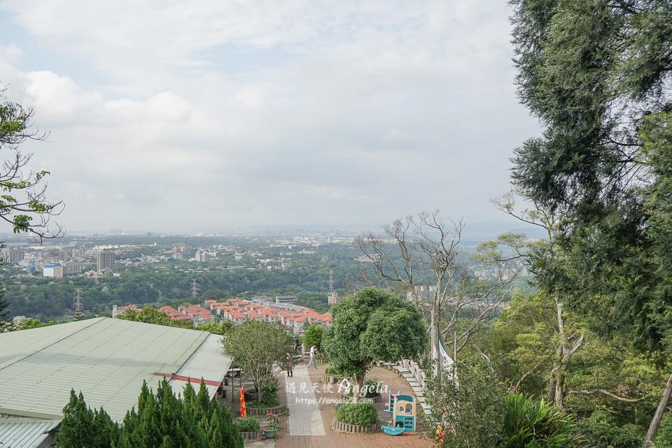 桃園石門山步道觀音像景觀台