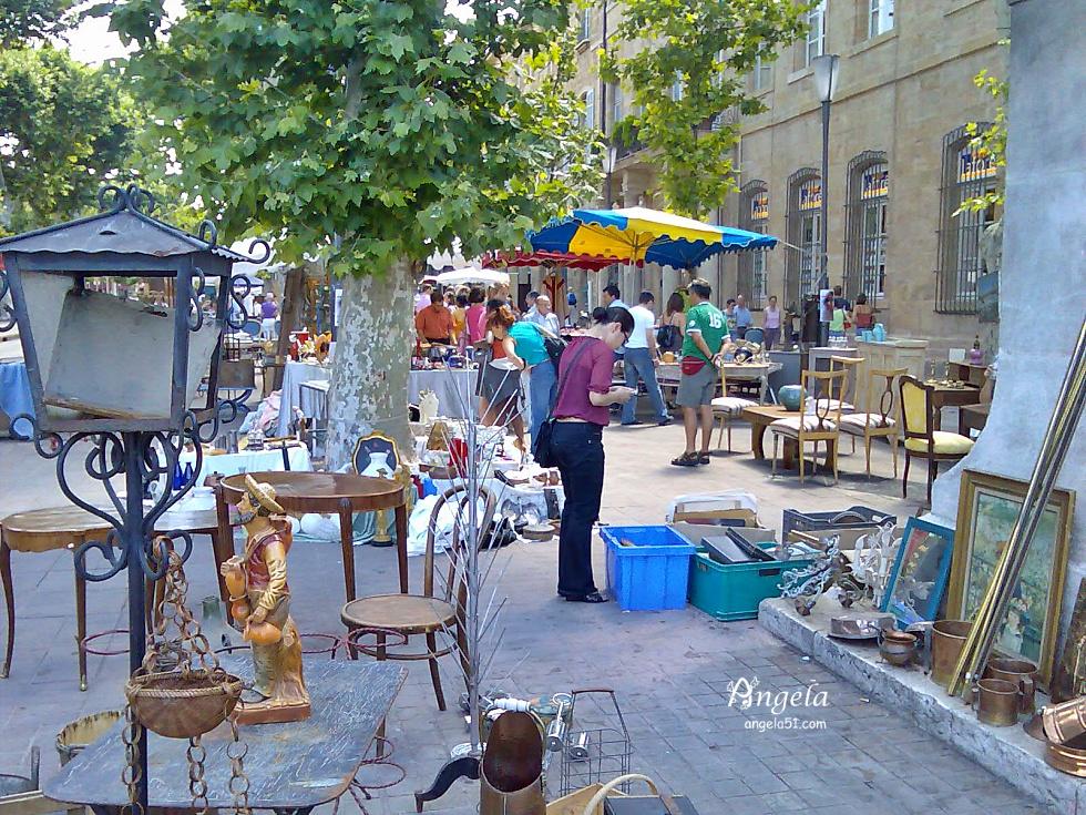 Aix en Provence 市集