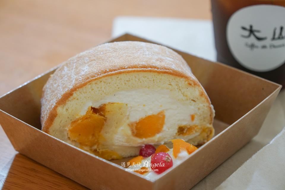 大山咖啡芒果蛋糕捲