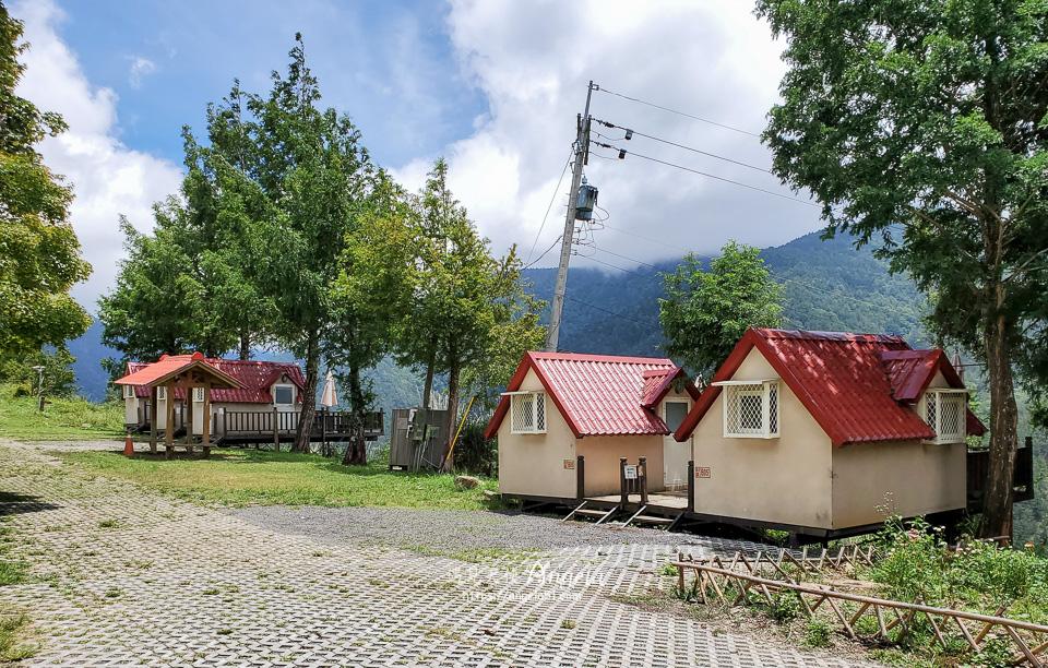 武陵農場露營區景觀木屋