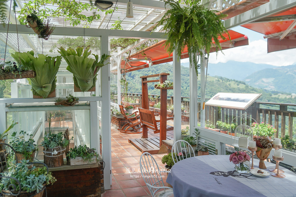 清境景觀玻璃屋咖啡廳來福居