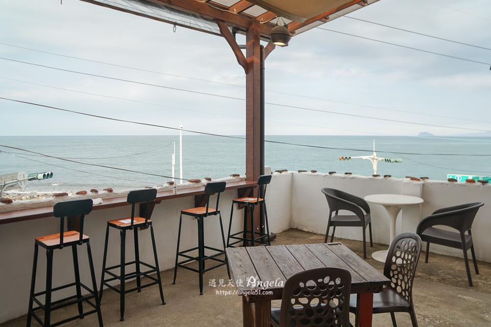 金山海邊咖啡 跳石沒有名字的咖啡館